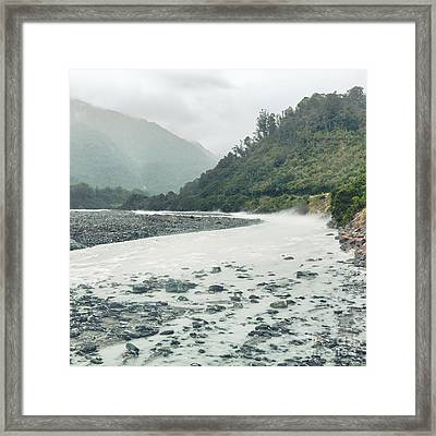 Glacial River Framed Print by MotHaiBaPhoto Prints
