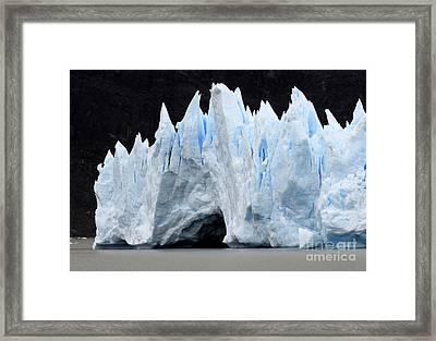 Glaciar Grey Patagonia Chile 3 Framed Print by Bob Christopher