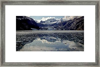 Glacier Bay Framed Print by Karen Wiles