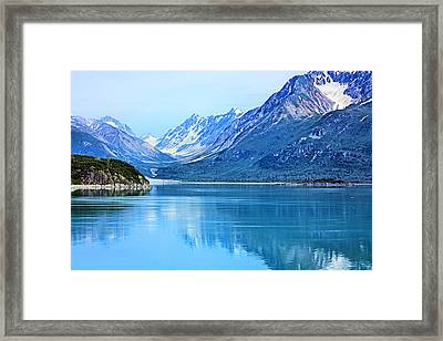 Glacier Bay Framed Print by Kristin Elmquist
