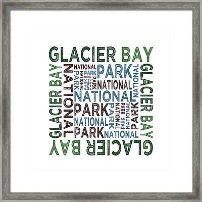 Glacier Bay National Park Framed Print by Flo Karp