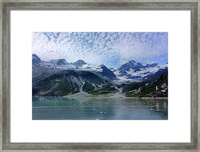 Glacier Bay Scenic Framed Print by Kristin Elmquist
