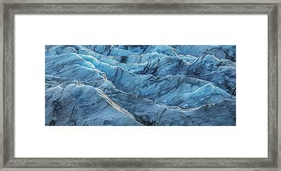 Glacier Blue Framed Print by Jon Glaser