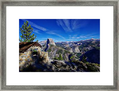 Glacier Point Yosemite National Park Framed Print by Scott McGuire