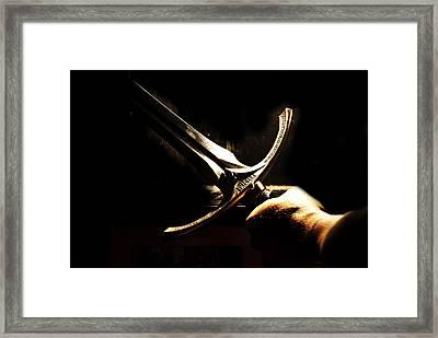 Glamdring - Foe Hammer Framed Print by Christopher Gaston