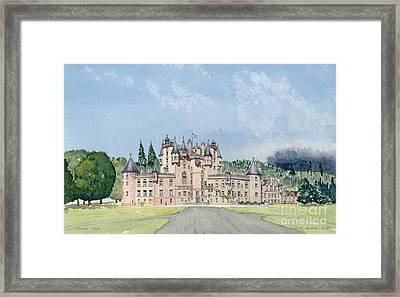 Glamis Castle Tayside  Framed Print by David Herbert