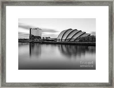 Glasgow Armadillo Framed Print by John Farnan