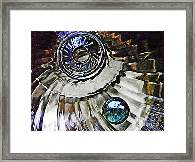 Glass Abstract 374 Framed Print by Sarah Loft