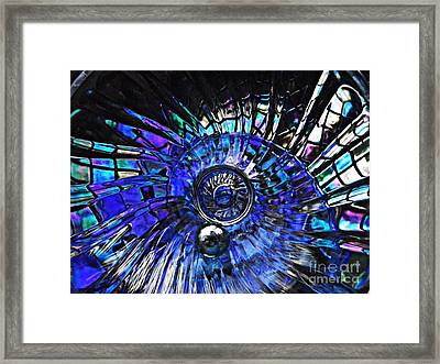Glass Abstract 403 Framed Print by Sarah Loft