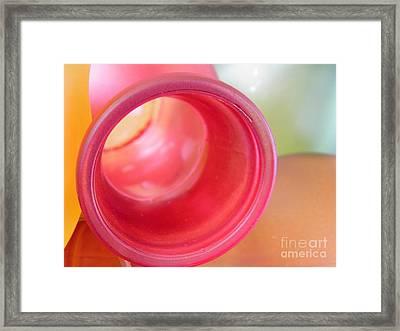 Glass Abstract 719 Framed Print by Sarah Loft