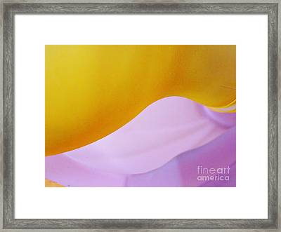 Glass Abstract 731 Framed Print by Sarah Loft