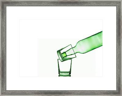 Glass Art Framed Print by Bahadir Yeniceri