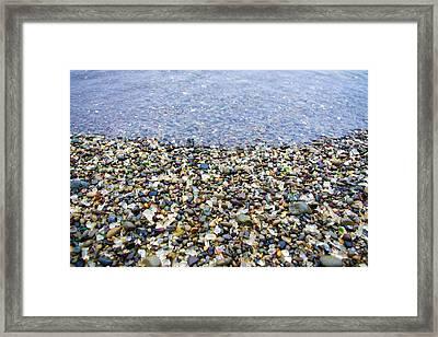 Glass Beach Framed Print by Priya Ghose