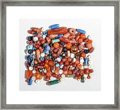 Glass Beads Framed Print by Photostock-israel