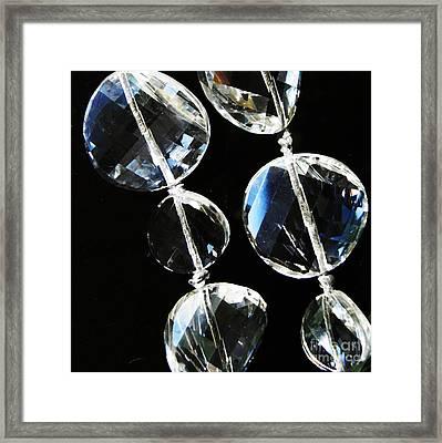 Glass Beads Framed Print by Sarah Loft
