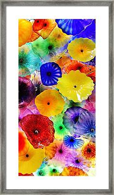 Glass Garden 3 Of 3 Framed Print by Benjamin Yeager