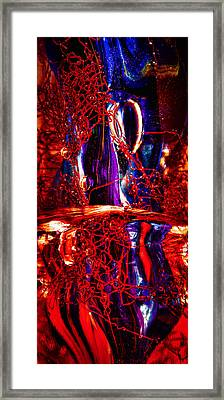 Glass Macro Abstract M2 Ce Framed Print by David Patterson