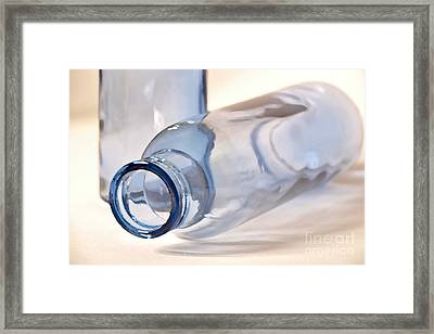 Glass Objects 3 Framed Print by Heiko Koehrer-Wagner