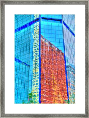 Glass Reflections Framed Print by Kathleen Struckle