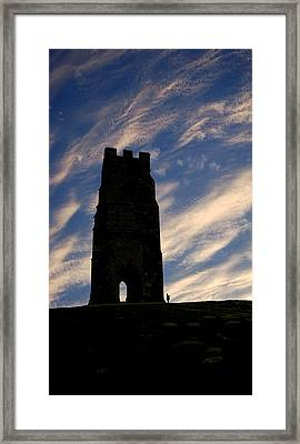 Glastonbury Tor Framed Print by Robert Taylor