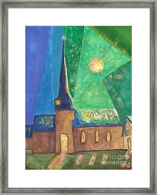 Glemroda Light Of God Framed Print by John Williams