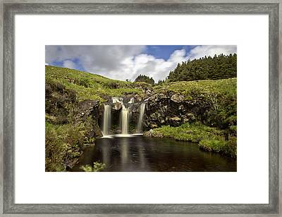 Glen Brittle Framed Print by David Pringle