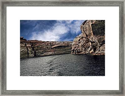 Glen Canyon Framed Print by Tom Prendergast
