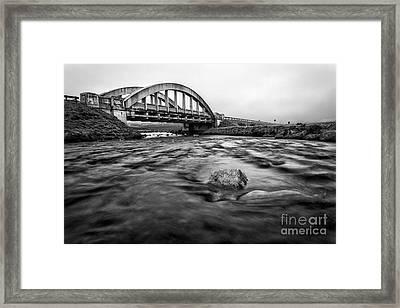 Glen Coe Bridge Framed Print by John Farnan