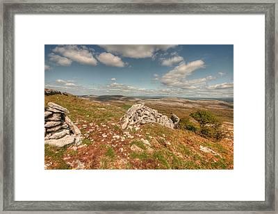 Glen Hill View Framed Print by John Quinn