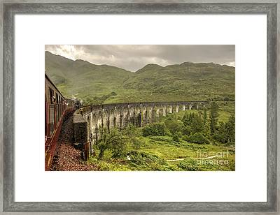 Glenfinian Viaduct  Framed Print by Rob Hawkins