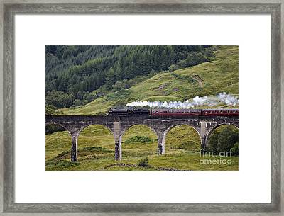 Glenfinnan Viaduct - D002340 Framed Print by Daniel Dempster