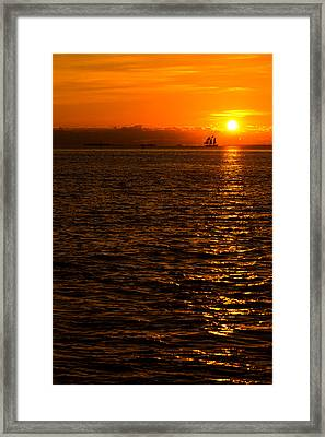 Glimmer Framed Print by Chad Dutson