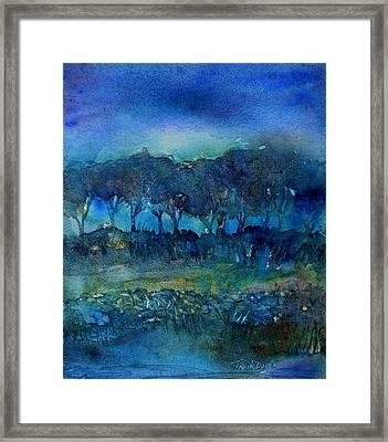Glimmer Of Dawn  Framed Print by Trudi Doyle