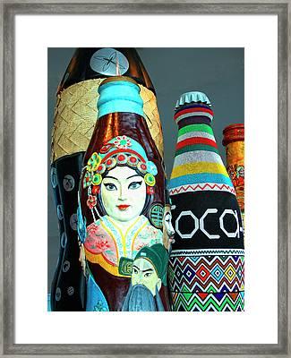 Global Cola Atlanta Ga Framed Print by William Dey