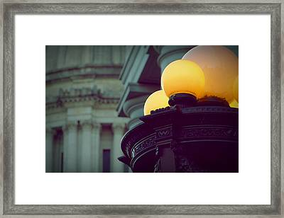 Global Lighting Framed Print by Patricia Strand