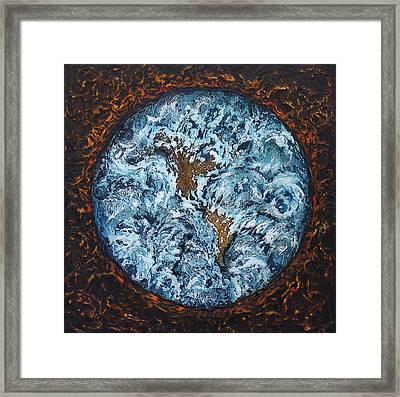 Global Warming Framed Print by Linda Carmel