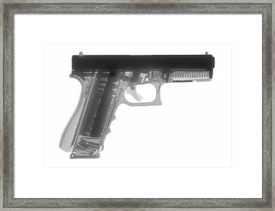 Glock G17 Framed Print by Ray Gunz