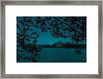 Gloomy Morning In Dc Framed Print by David Hahn