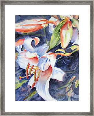 Gloria Framed Print by Barbara Jung