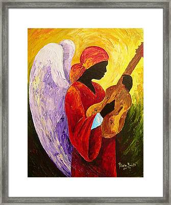Gloria In Excelcis Deo Framed Print by Patricia Brintle