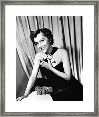 Gloria Swanson, Ca. Early 1950s Framed Print by Everett