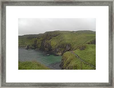 Glorious Day Northern Ireland Framed Print by Betsy Knapp