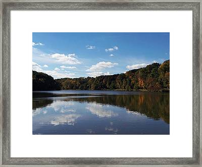 Glorious Glacier Lake Framed Print by Monnie Ryan