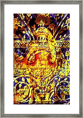 Glorious Gold Framed Print by Larry Lamb