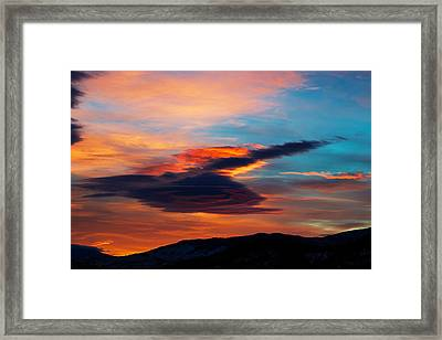 Glorious Morning- Helena Mt Framed Print by Kevin Bone
