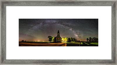 Glorious Night Framed Print by Aaron J Groen