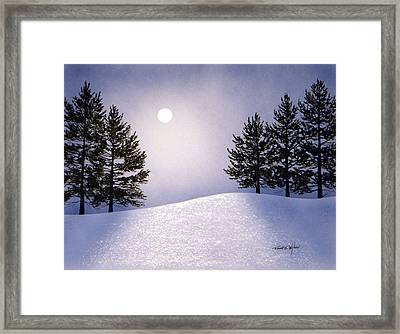 Glorious Night Framed Print by Frank Wilson