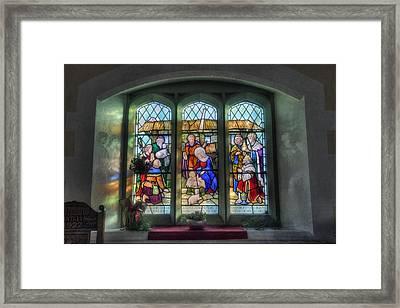 Glory Of God Framed Print by Ian Mitchell