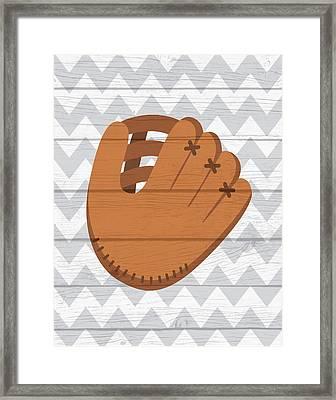 Glove Framed Print by Tamara Robinson