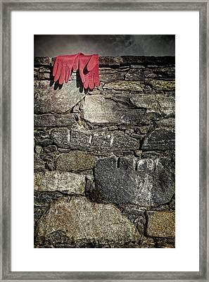 Gloves Framed Print by Joana Kruse